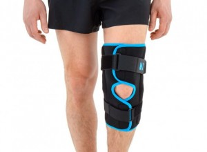 Open Knee Brace With Side Splints
