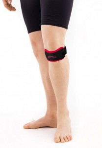 Jumper's Knee Strap With Silicone Insert