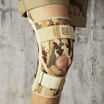 Knee Brace With Orthopaedic Stays - 4Army
