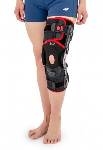 Open Lower Limb Brace With Rom Adjustment And System ACL Power - BOA System