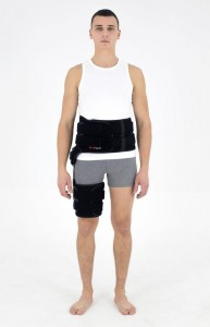 Hip Orthosis With Split 1RE