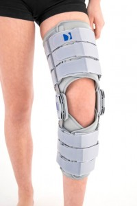 Hyperextended Knee Brace With Rom Adjustment