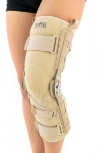 Lower Limb Brace With Anatomical Rom Adjustment